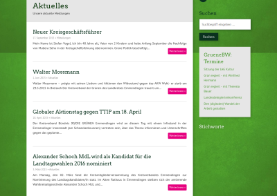 Homepage der Grünen im Kreis Emmendingen